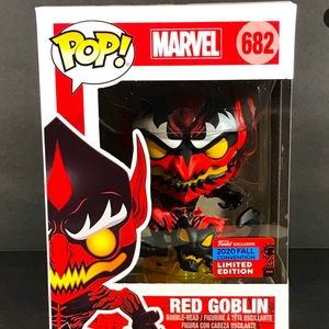 FUNKO POP MARVEL RED GOBLIN NYCC SHARED EXCLUSIVE